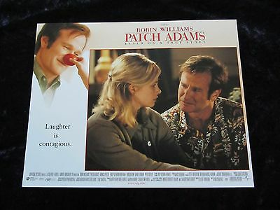 PATCH ADAMS lobby card #6 ROBIN WILLIAMS poster, MONICA POTTER poster