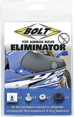 Bolt MC Hardware Airbox Dzus Eliminator Hardware Kit BMH-YZ.DZE 15-0114 501-355