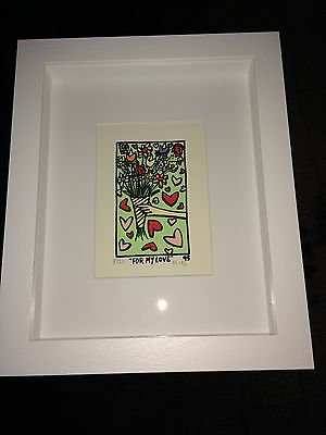 "James RIZZI original 3D ""FOR MY LOVE"", 1995 - vergriffen, A/P, signiert, gerahmt"