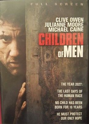 Children of Men (DVD, 2006, Full Frame)