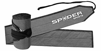 spiderSports Weight Lifting Wrist/Strength Wraps Bandage Hand Support Gym Straps