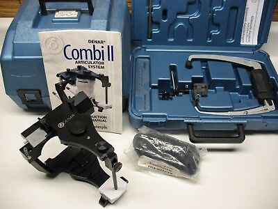 New Denar Combi Ii  Semi Adjustable Dental Articulator With Slidematic Facebow