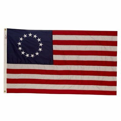Valley Forge Flag 3 x 5 Foot Nylon Colonial 13-Star Betsy Ross US American Flag