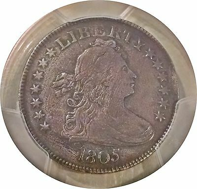 1805 Draped Bust Quarter 25C - Pcgs Xf Details ~ Minor Issues Very Attractive