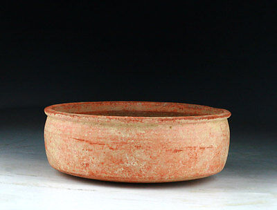 *sc* Decorative Roman Carthage (North Africa) Terracotta Pottery Bowl!