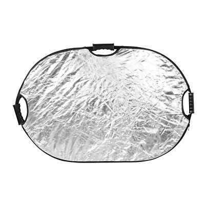 90cm x 120cm 5 in 1 Multi-Disc Collapsible Disc Light Reflector with Grip Handle