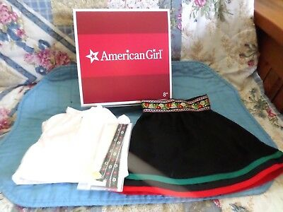 American Girl KIRSTEN'S HOLIDAY WINTER OUTFIT RED BOOTS & DOLL NOT INCLUDED NIB