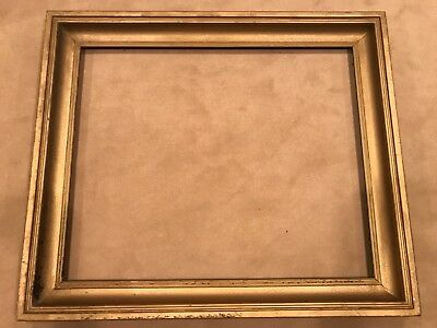 Large 19th Century 33x27 Antique Cove Style Gold Picture Frame