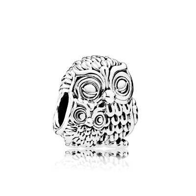 New Authentic Pandora Sterling Silver S925 Charming Owls Charm  #791966