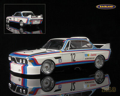 BMW 3.0 CSL Sieger 6H Nürburgring 1973 Amon/Stuck, Minichamps Metall-Modell 1:18