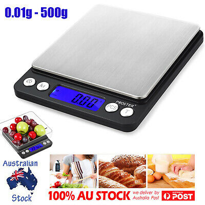 Mini Electronic Digital Pocket Gold Jewellery Weighing Kitchen Scales 0.01G-500G