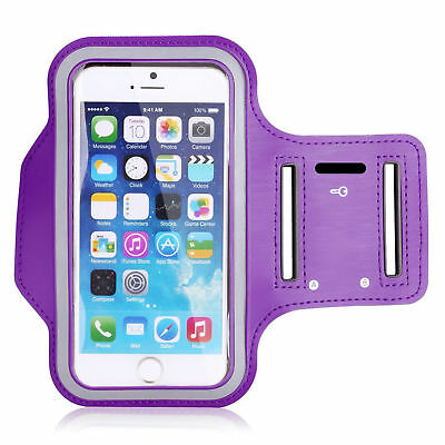 Running Jogging Fitness Workout Armband Belt Case Apple iPhone 6S PLUS Purple