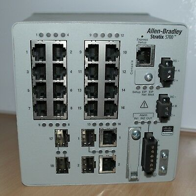 Allen-Bradley Stratix 5700 20-port Managed Switch