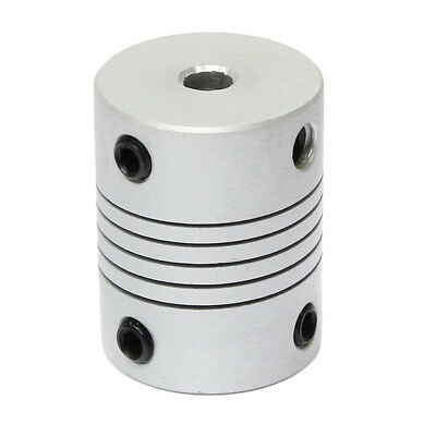 5x8x25mm Flexible Shaft Coupling for 3D Printer CNC Motor Coupler Connector