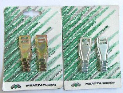 8 Pz Ganci Fissi Per Tapparelle In Plastica Art.1064 Meazza Packaging New