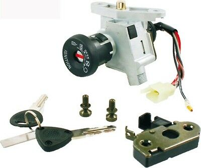 Ignition switch kit Mbk Ovetto/Yamaha Neos 50cc 1997/0101 RMS key