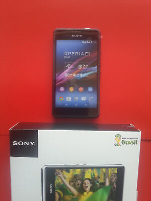 Sony XPERIA E1 Dual in Black Handy Dummy Attrappe - Requisit, Deko, Werbung