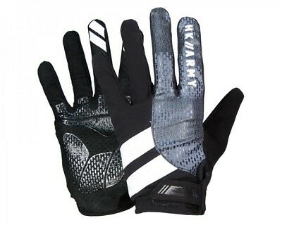 Paintball Handschuhe HK Army Freeline Gloves Vollfinger Charcoal grau