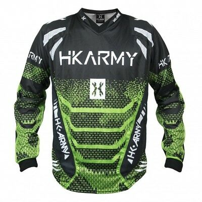 Paintball Trikot HK Army Freeline Jersey Energy grün