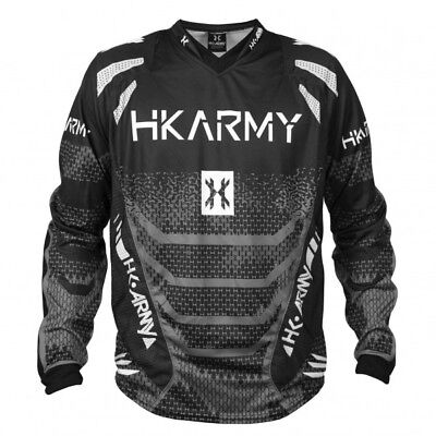 Paintball Trikot HK Army Freeline Jersey Graphite grau