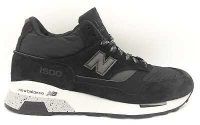 b60472d328d9e New Balance 1500 MH1500KK Mid Made In England UK Shoes Black Grey Size 7
