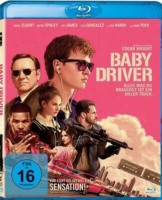 Baby Driver Blu Ray BRAND NEW SEALED