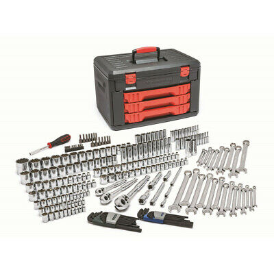 GearWrench 239-Piece SAE/Metric Mechanics Tool Set 80942 New