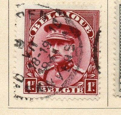 Belgium 1931-32 Early Issue Fine Used 1F. 215014