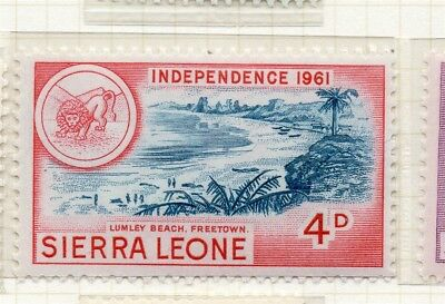Sierra Leone 1961 Early Issue Fine Mint Hinged 4d. 215192