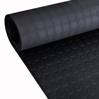 Stud / Penny Coin Rubber Flooring Matting for Garage, Van Car Roll Mat