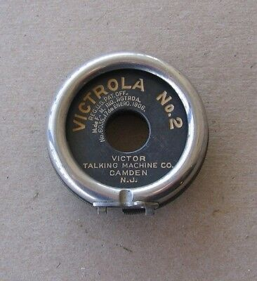 Antique Original Victor Victrola No. 2 Talking Machine Reproducer Parts  f