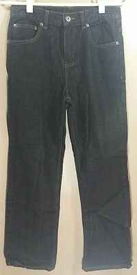 Boys Faded Glory Black Denim Jeans Size 14 Regular