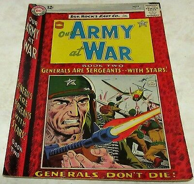 Our Army at War 147, (FN/VF 7.0) 1964, 40% off Guide!