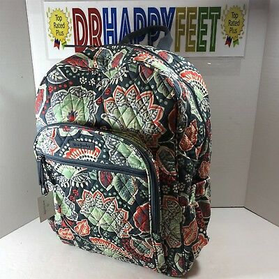 950c6511e9 NEW Vera Bradley CAMPUS BACKPACK Nomadic Floral Laptop NWT  Retired Pattern