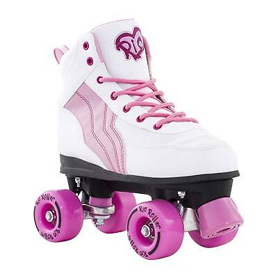 Rio Roller Pure Quad Roller Skates - White/Pink Was £45