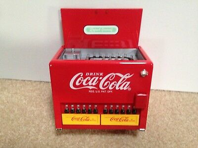 """Coca-Cola Collectible Musical Bank """"Things Go Better With Coke"""""""