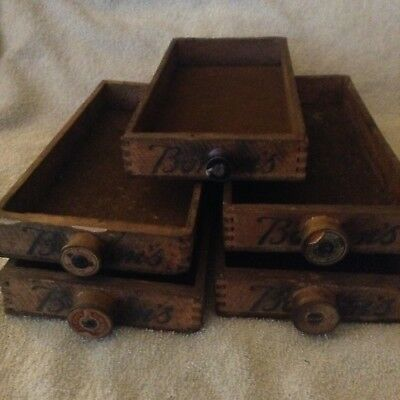 Rare Vintage Bordens Cream Cheese Bars Wood Dovetailed Box