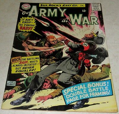 Our Army at War 157, (FN/VF 7.0) 1965, 40% off Guide!