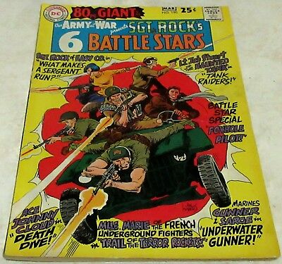 Our Army at War 190, (VF 8.0) 1968 80 page Giant! 40% off Guide!
