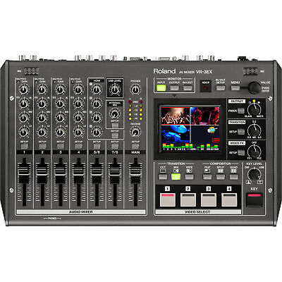 Roland VR3EX All-in-One AV Mixer VR-3 EX 3EX Audio and Video Mixer with USB
