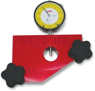 Feuling Motor Company Red Crankshaft Runout Measuring Tool - 9014 3801-0311