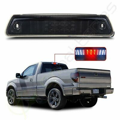 Smoked For 2009-2014 Ford F150 LED 3rd Third Brake Tail Light Stop Cargo Lamp