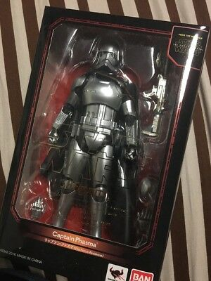 BANDAI S.H.Figuarts Star Wars Captain Phasma (The Force Awakens) Painted New
