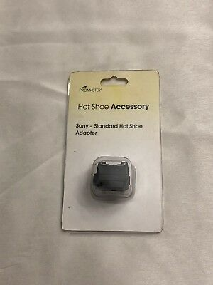 Brand New ProMaster Standard Hot Shoe Adapter for Sony