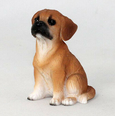 PUGGLE TINY ONES DOG Figurine Statue pet lovers gift resin