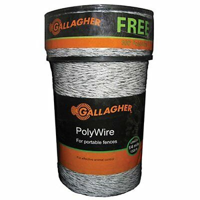 Gallagher G620300 Electric Polywire Fence Combo Roll, 1312-Feet (+ 328' FREE)