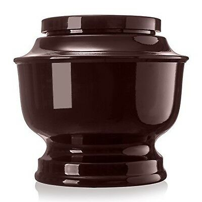 Classic Aluminum Funeral Cremation Urn for human Ashes, Adult