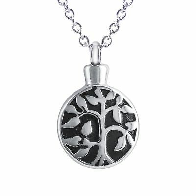 SmartChoice Cremation Urn Necklace Ashes Beautiful Gift Box Tree Life Cremati...