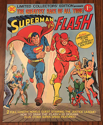Superman Versus Vs The Flash Limited Collectors' Edition C-48 (1976, Dc) Fn/vf