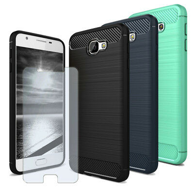 Mobile Phone Lightweight Case For Samsung Galaxy J7 Prime With Tempered Glass